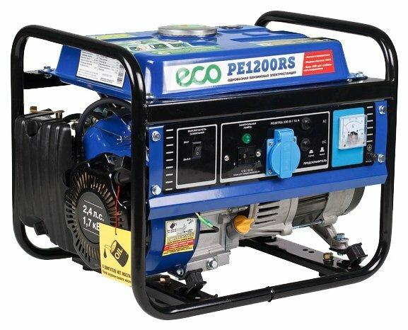 бензиновая электростанция eco pe 1200 rs