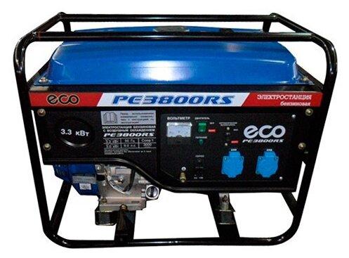 бензиновая электростанция eco pe 3800 rs