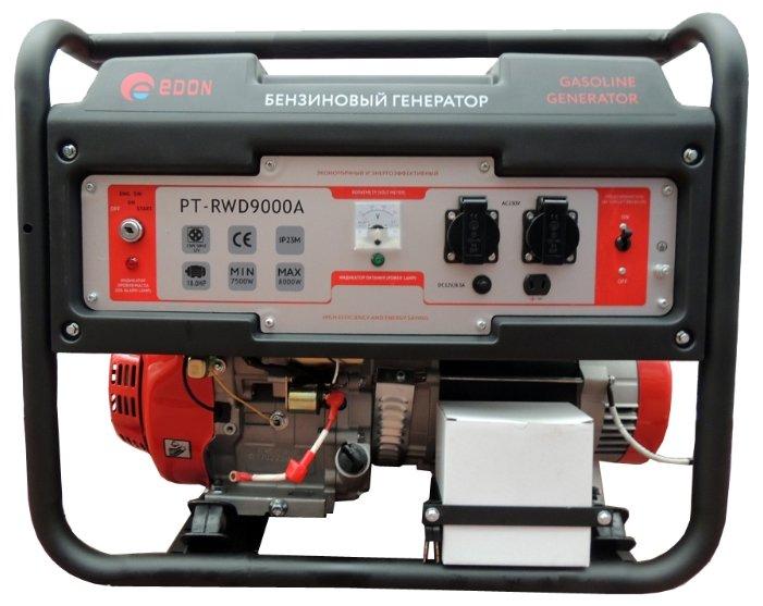 бензиновая электростанция edon pt-rwd9000a