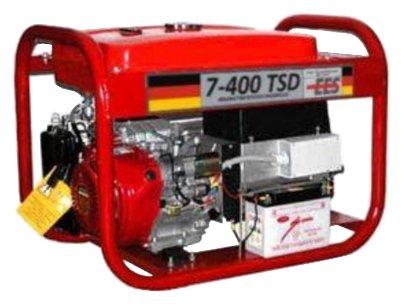 бензиновая электростанция ees abp 7/4-t400/230 lh-tsd9