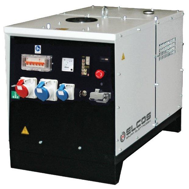 бензиновая электростанция elcos ge zip 70 ae 3f