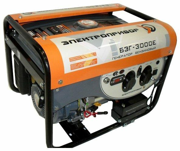 бензиновая электростанция электроприбор бэг-6600е