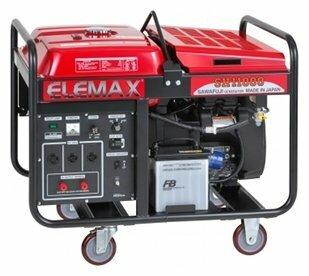 бензиновая электростанция elemax sh11000-ld