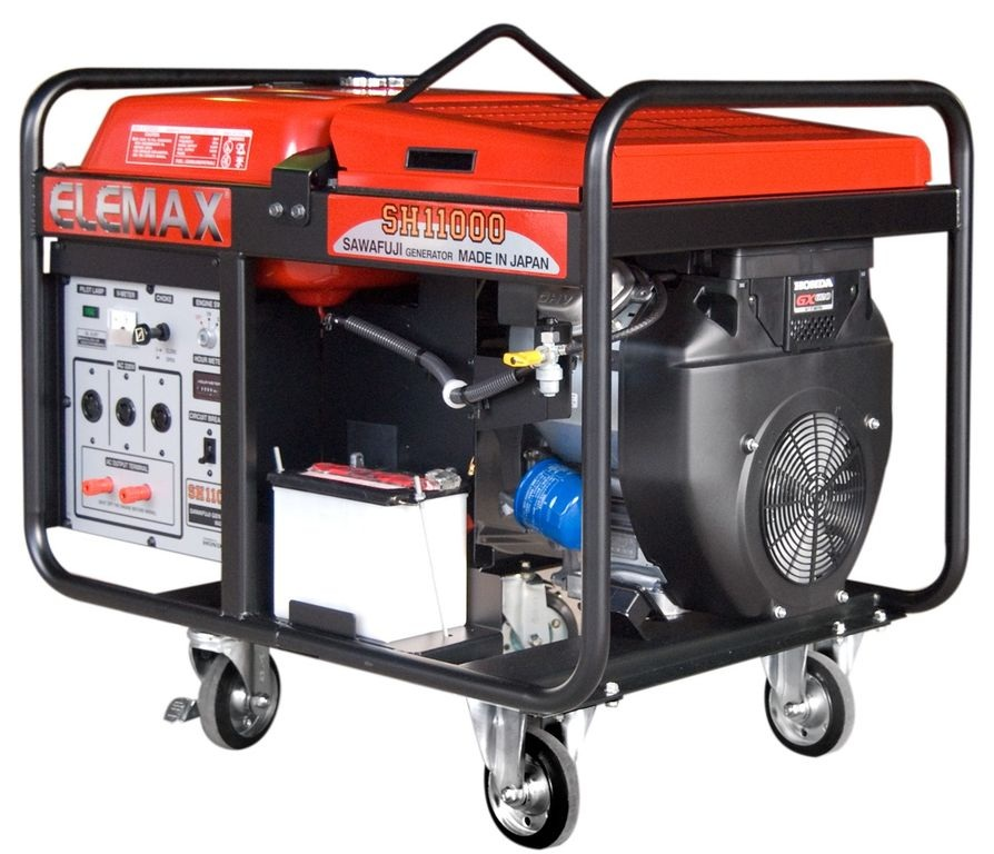 бензиновая электростанция elemax sh11000-r