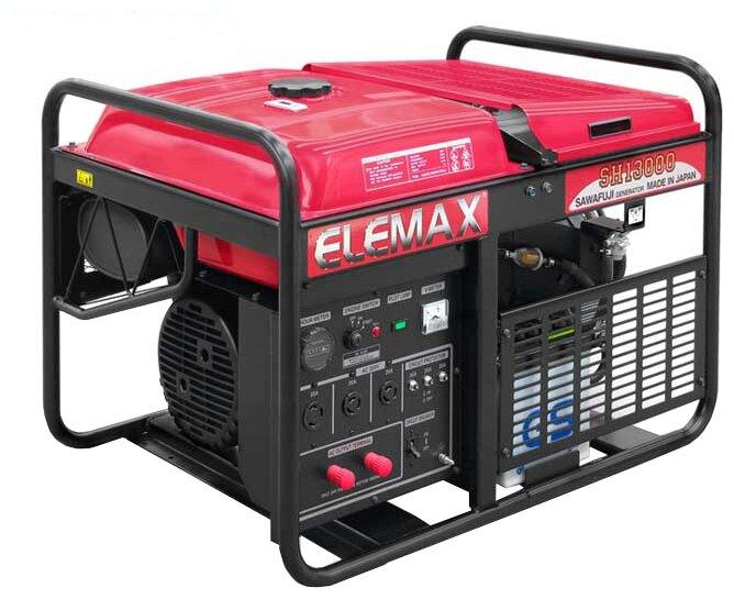 бензиновая электростанция elemax sh13000-r