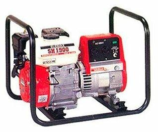 бензиновая электростанция elemax sh1900-s