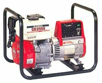 бензиновая электростанция elemax sh2900-l