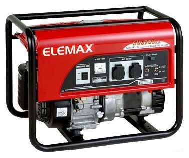 бензиновая электростанция elemax sh3200ex-d