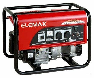 бензиновая электростанция elemax sh3200ex-ld