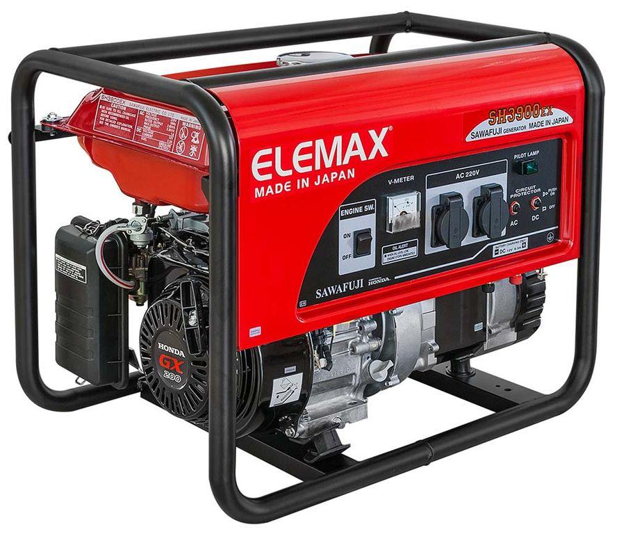 бензиновая электростанция elemax sh 3900 ex-r
