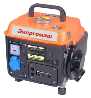 бензиновая электростанция энергомаш эг-87080