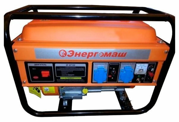 бензиновая электростанция энергомаш эг-87122