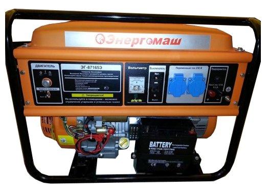 бензиновая электростанция энергомаш эг-87165э