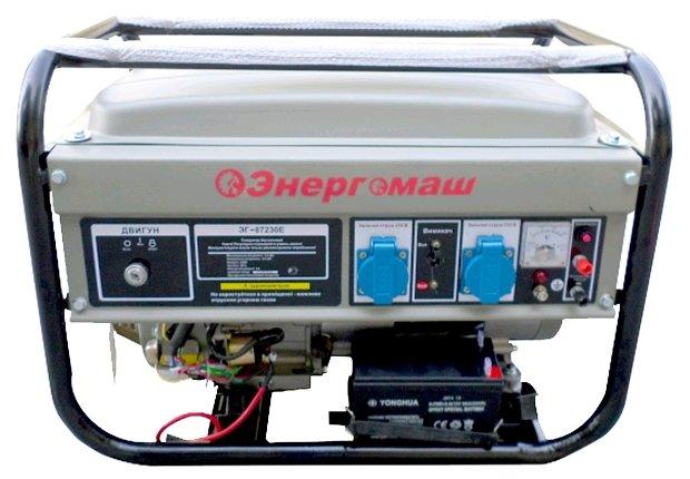 бензиновая электростанция энергомаш эг-87230е
