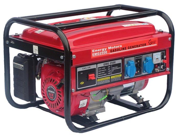 бензиновая электростанция energy motors emg2500