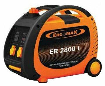 бензиновая электростанция ergomax er 2800 i