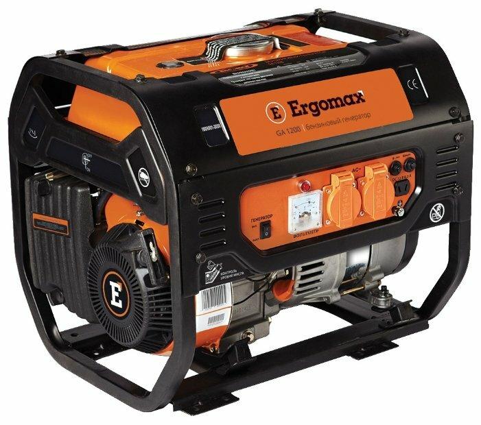 бензиновая электростанция ergomax ga 1200