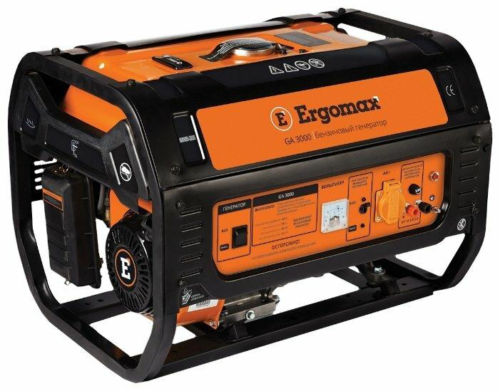 бензиновая электростанция ergomax ga 3500