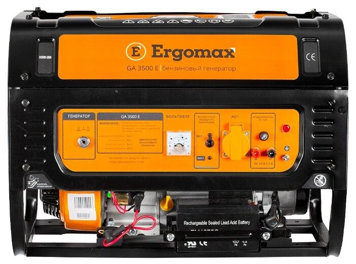 бензиновая электростанция ergomax ga 3500 e