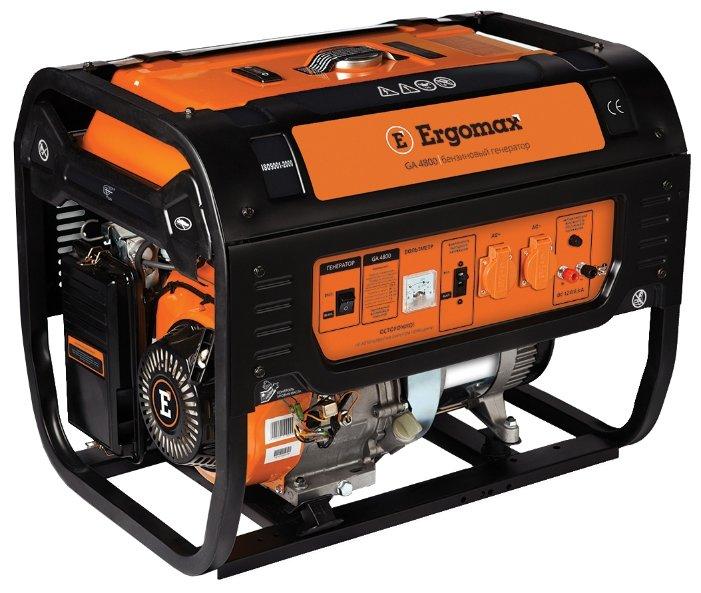 бензиновая электростанция ergomax ga 4800