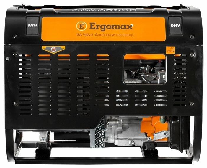бензиновая электростанция ergomax ga 7400 e