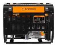 бензиновая электростанция ergomax ga 8700е/3