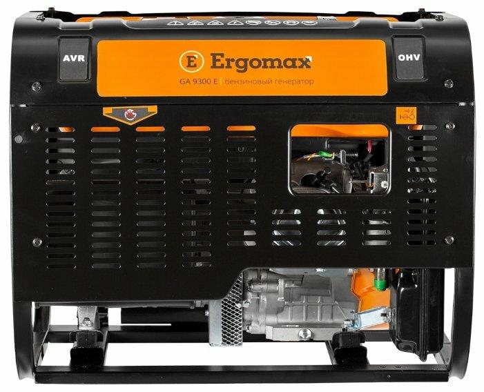 бензиновая электростанция ergomax ga 9300 e