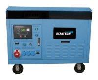 бензиновая электростанция etaltech e. industrial hd adg 18000te2
