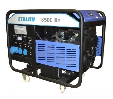 бензиновая электростанция etaltech e. industrial hd dpg 10000e