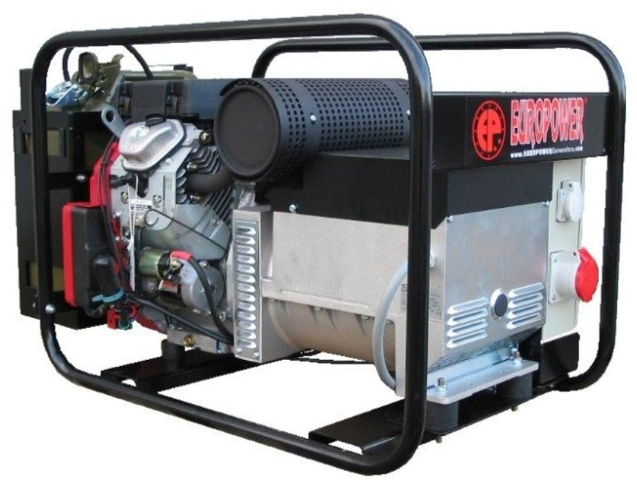 бензиновая электростанция europower ep12000te