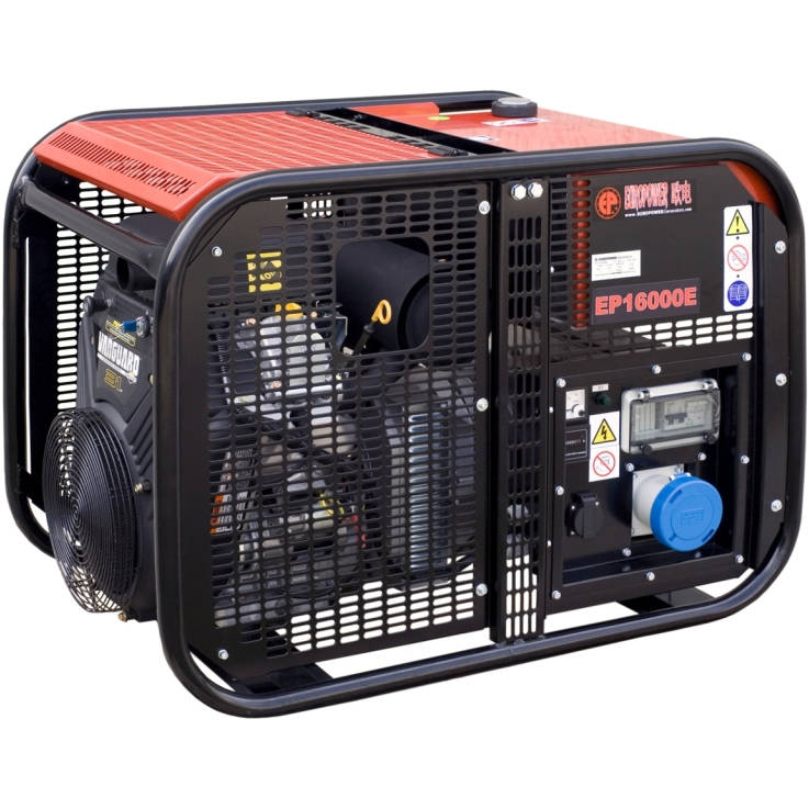 бензиновая электростанция europower ep 16000 e