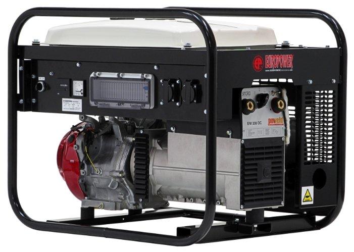 бензиновая электростанция europower ep200x2-25