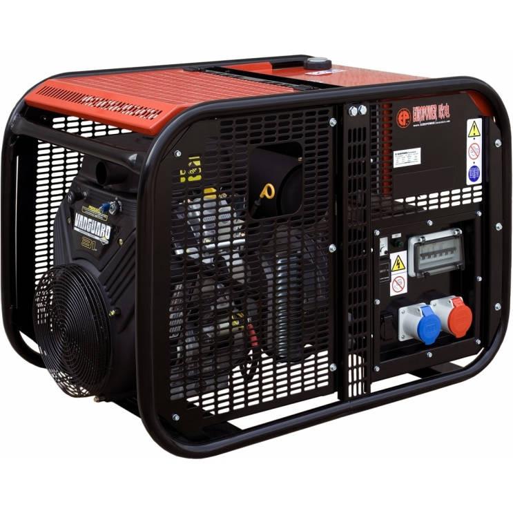 бензиновая электростанция europower ep 22000 te