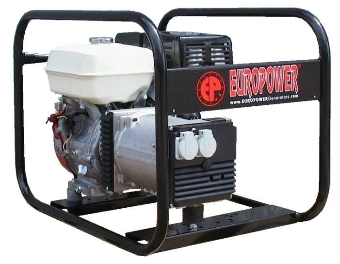 бензиновая электростанция europower ep4100-en2