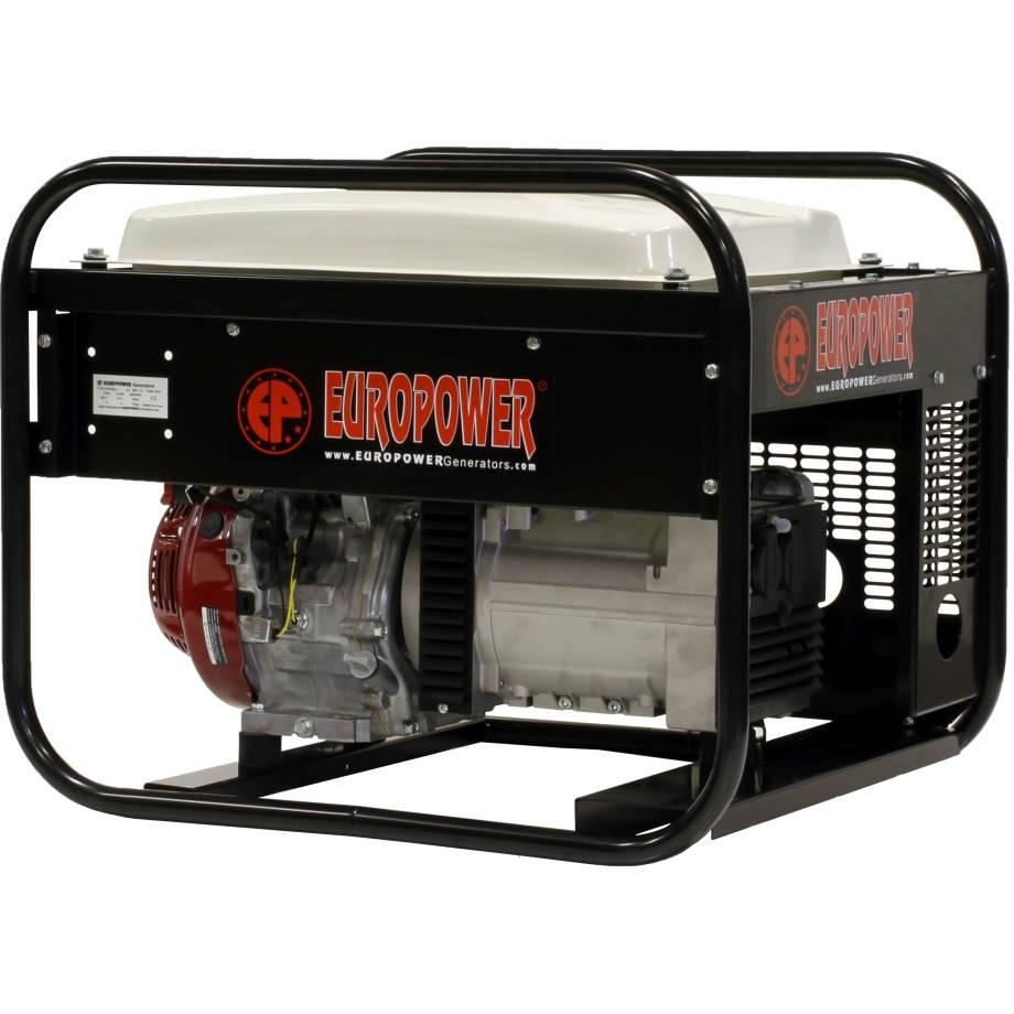 бензиновая электростанция europower ep 4100 ln