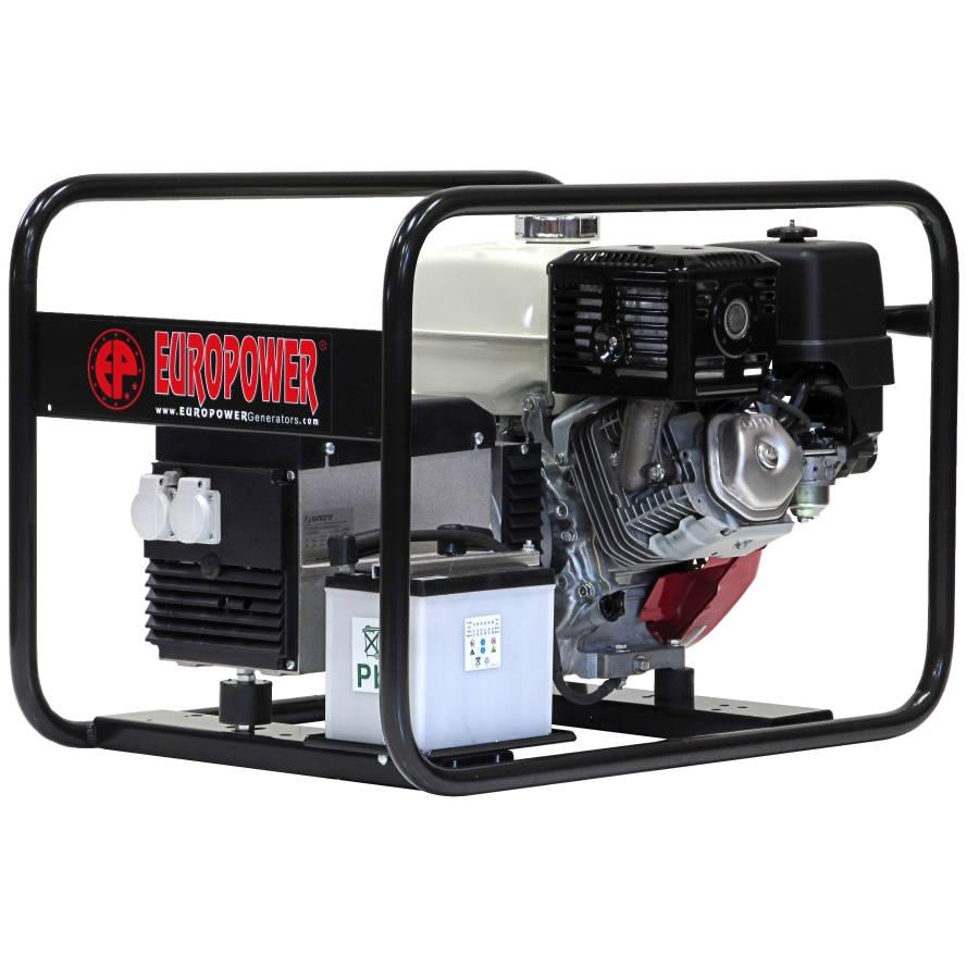 бензиновая электростанция europower ep 6000 e