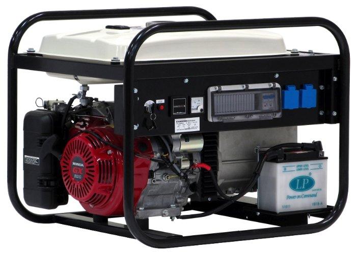 бензиновая электростанция europower ep6000e-25