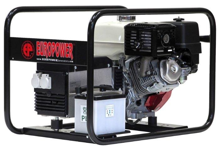 бензиновая электростанция europower ep6000e-en2