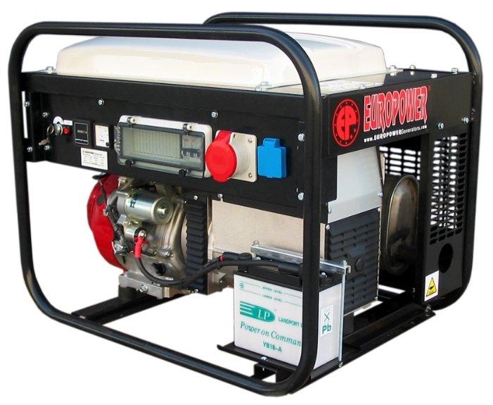 бензиновая электростанция europower ep6500te-25