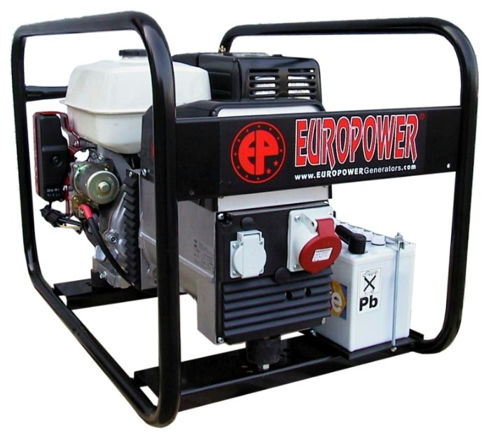 бензиновая электростанция europower ep6500te-en2