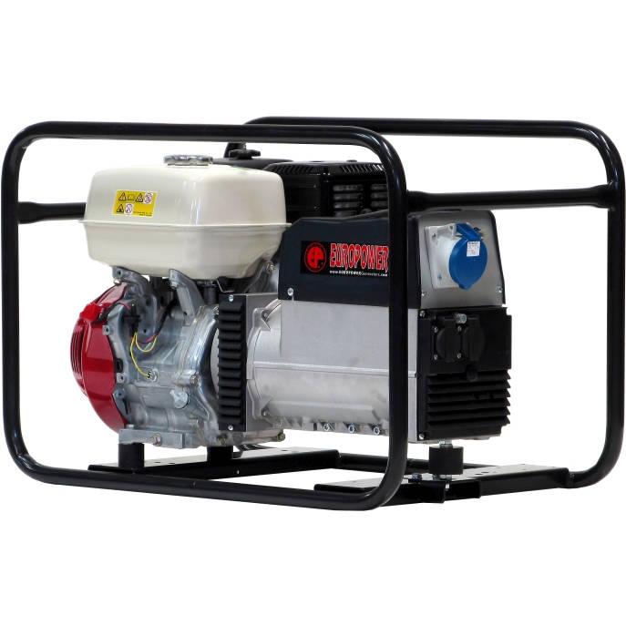 бензиновая электростанция europower ep 7000
