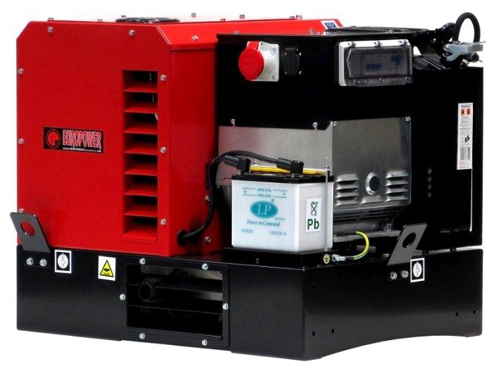 бензиновая электростанция europower epg12000te