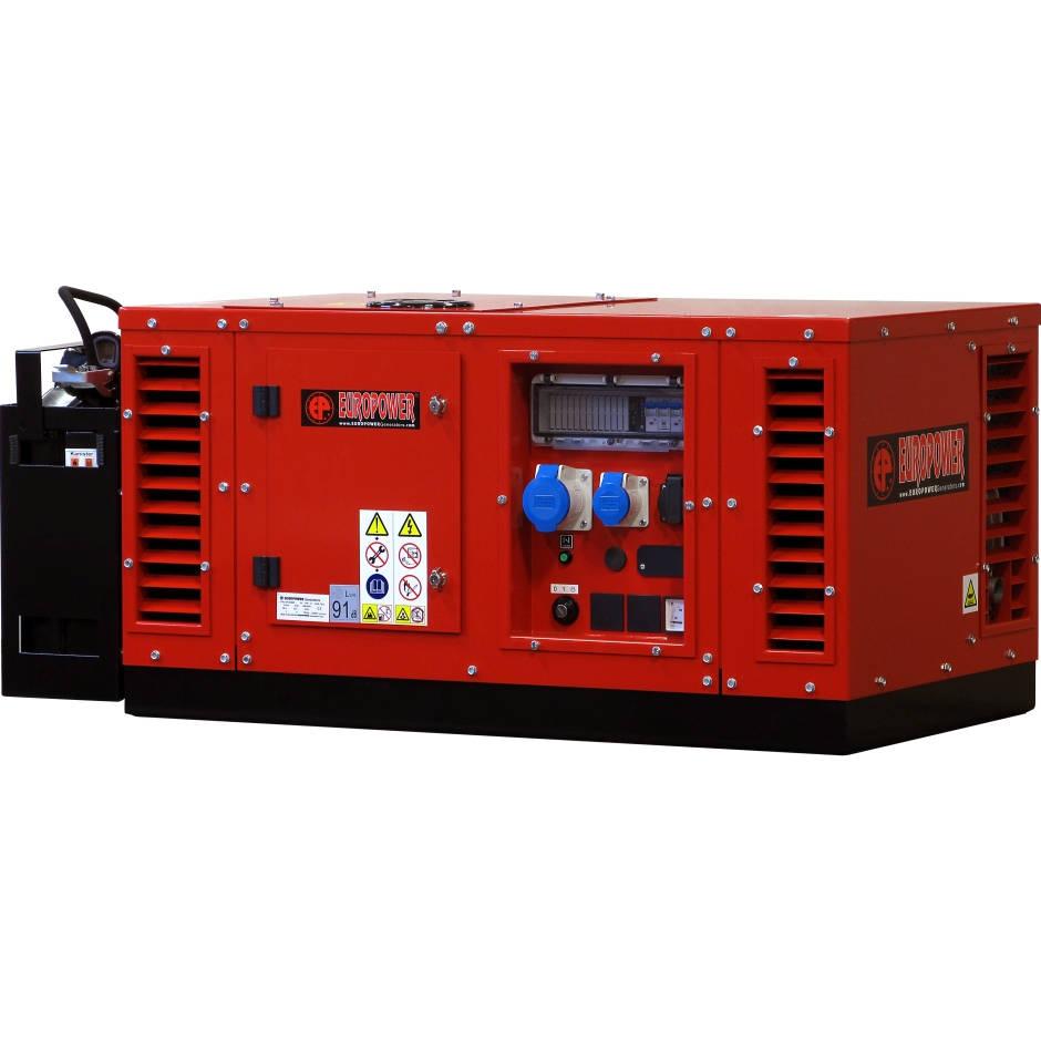 бензиновая электростанция europower eps 10000 e