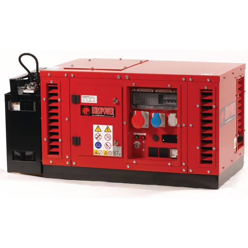 бензиновая электростанция europower eps 6500 te