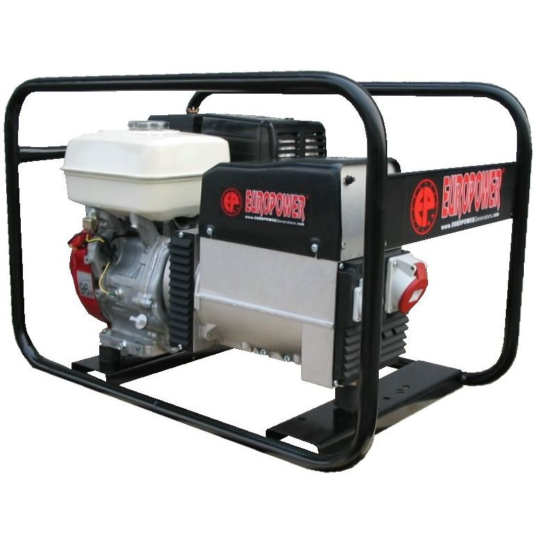 бензиновая электростанция europower ер 5000 t 3x230v