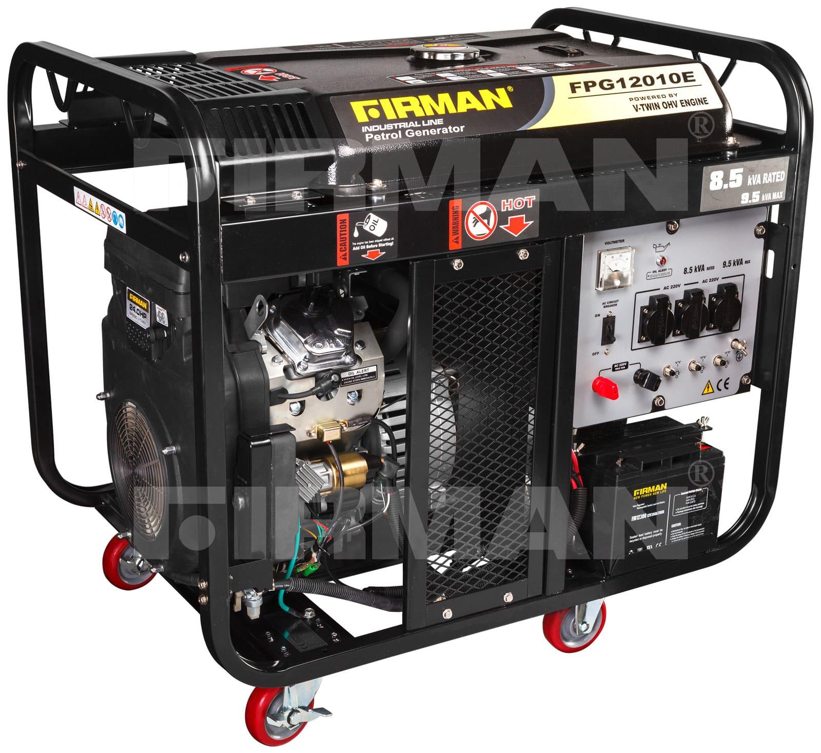 бензиновая электростанция firman fpg12010e