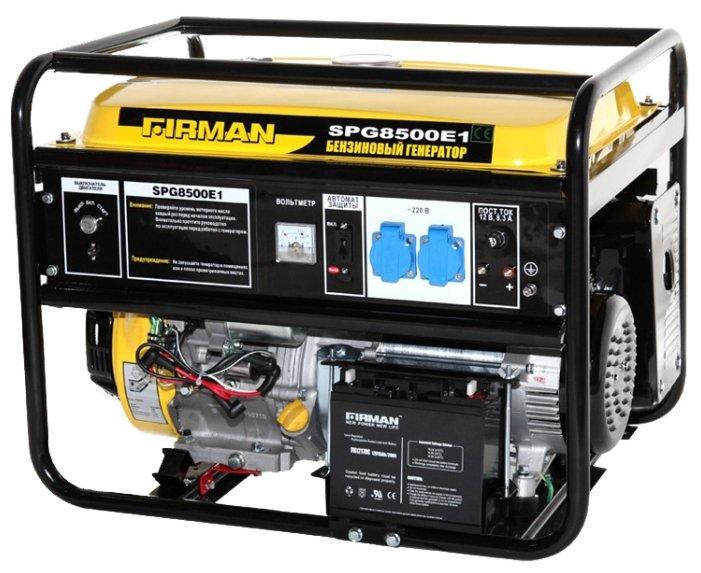 бензиновая электростанция firman spg 8500e1+ats