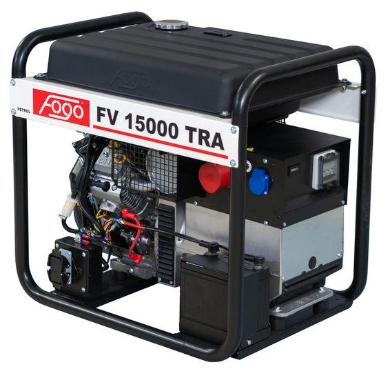 бензиновая электростанция fogo fv15000tra