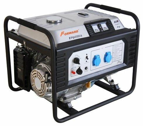 бензиновая электростанция forward fgg-4500ae