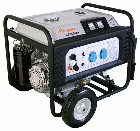 бензиновая электростанция forward fgg-5500ae